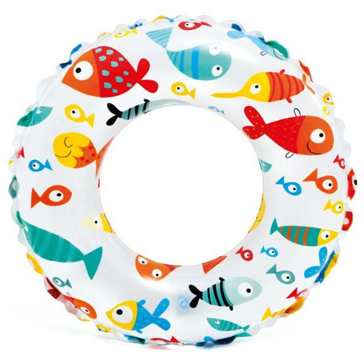 Intex 59241 Plávacie kruh 61 cm rybičky