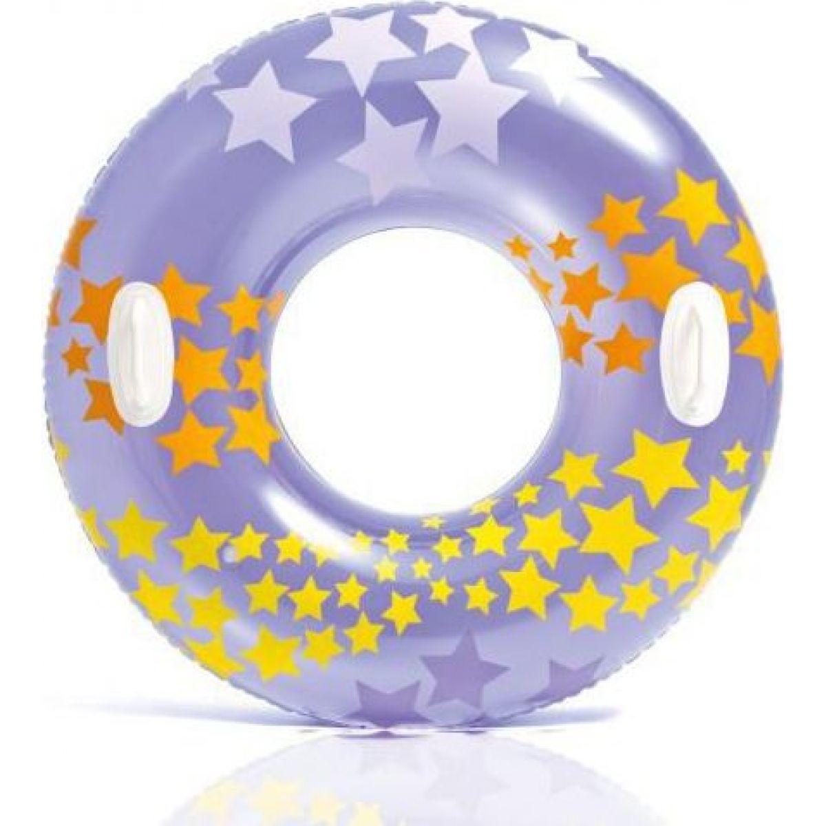 Intex 59256NP Kruh plávacie Fialový