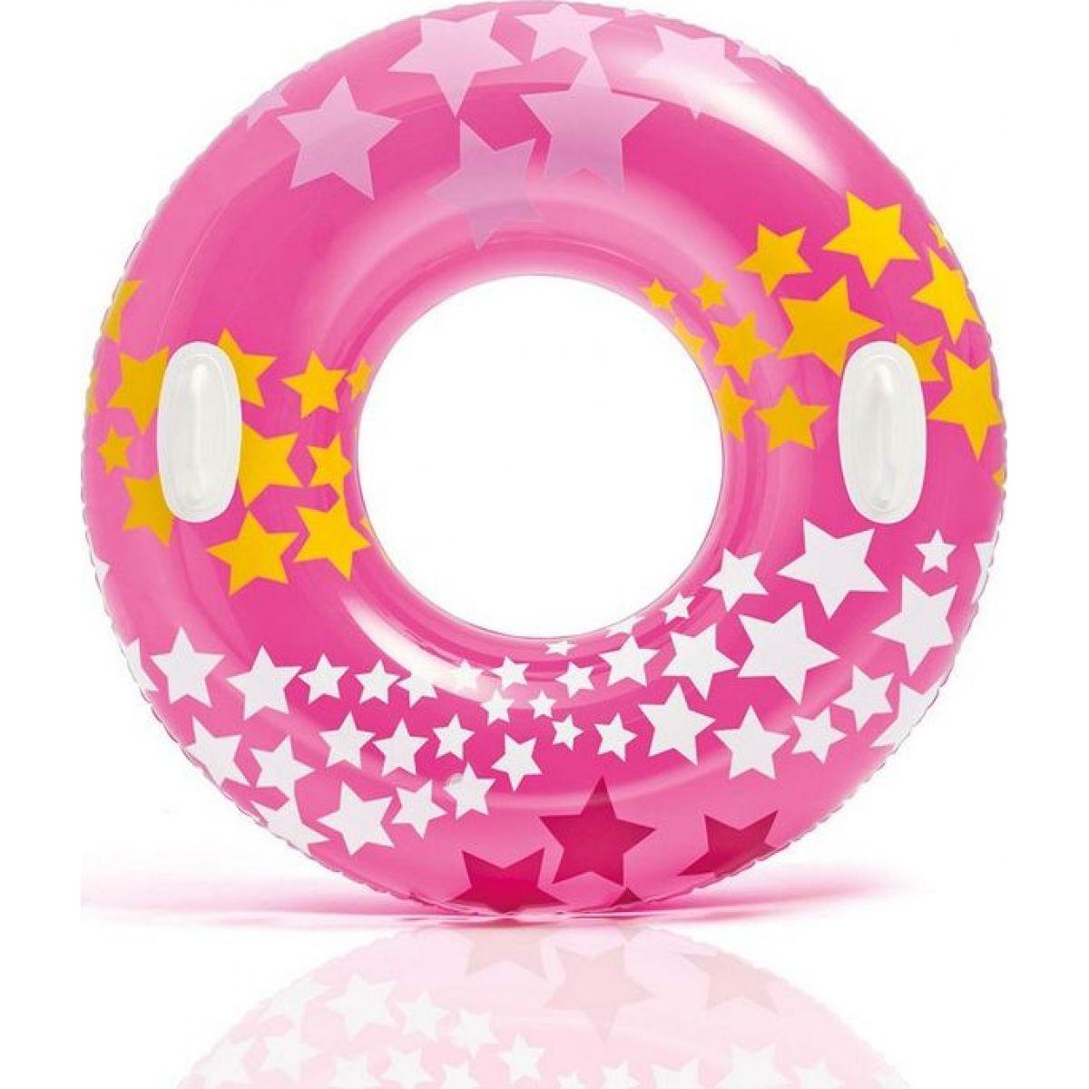 Intex 59256NP Kruh plávacie Ružový