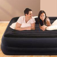 Intex 64124 Nafukovacia vyvýšená posteľ Queen 152x203x42cm 5