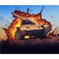 Italeri Easy to Build World of Tanks 34102 T 34 85 1:72 5