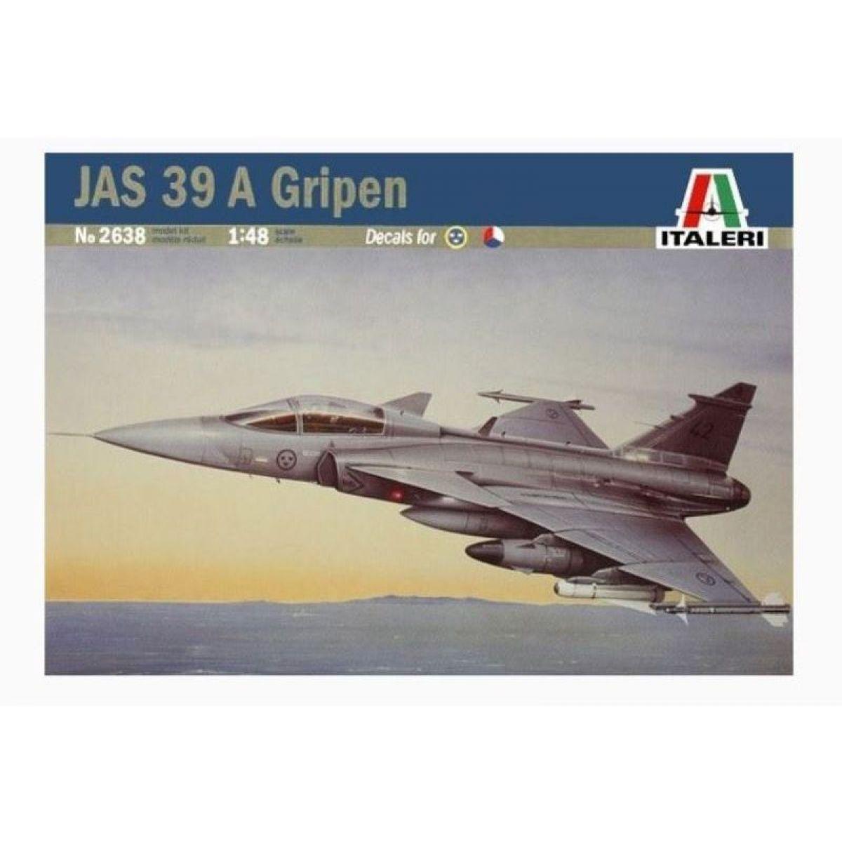 Italeri Model Kit lietadlo 2638 JAS 39 A Gripen 1:48