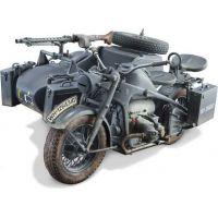 Italeri Model Kit military 7406 Zundapp KS 750 with sidecar 1: 9 6