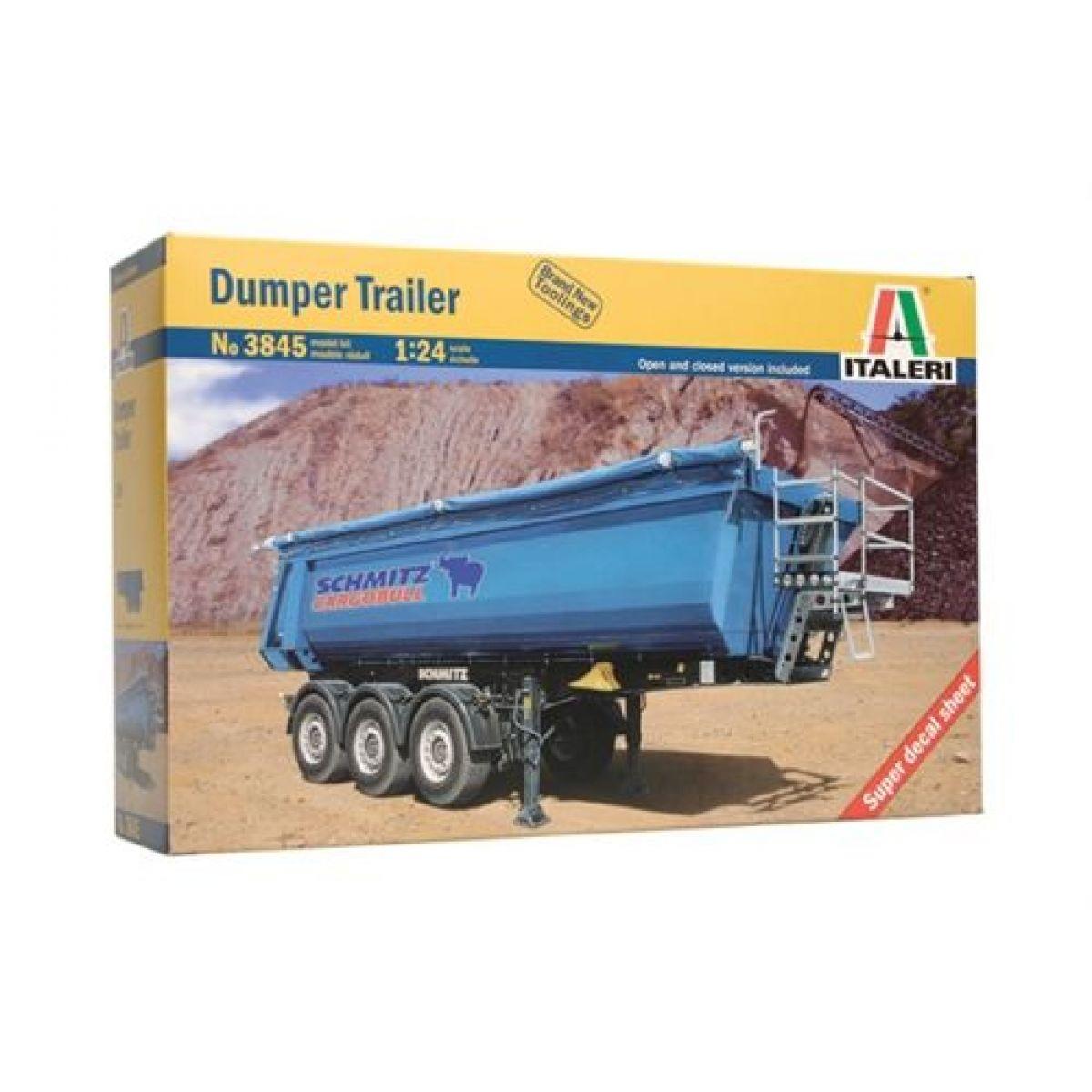 Italeri Model Kit náves 3845 Dumper Trailer 1:24
