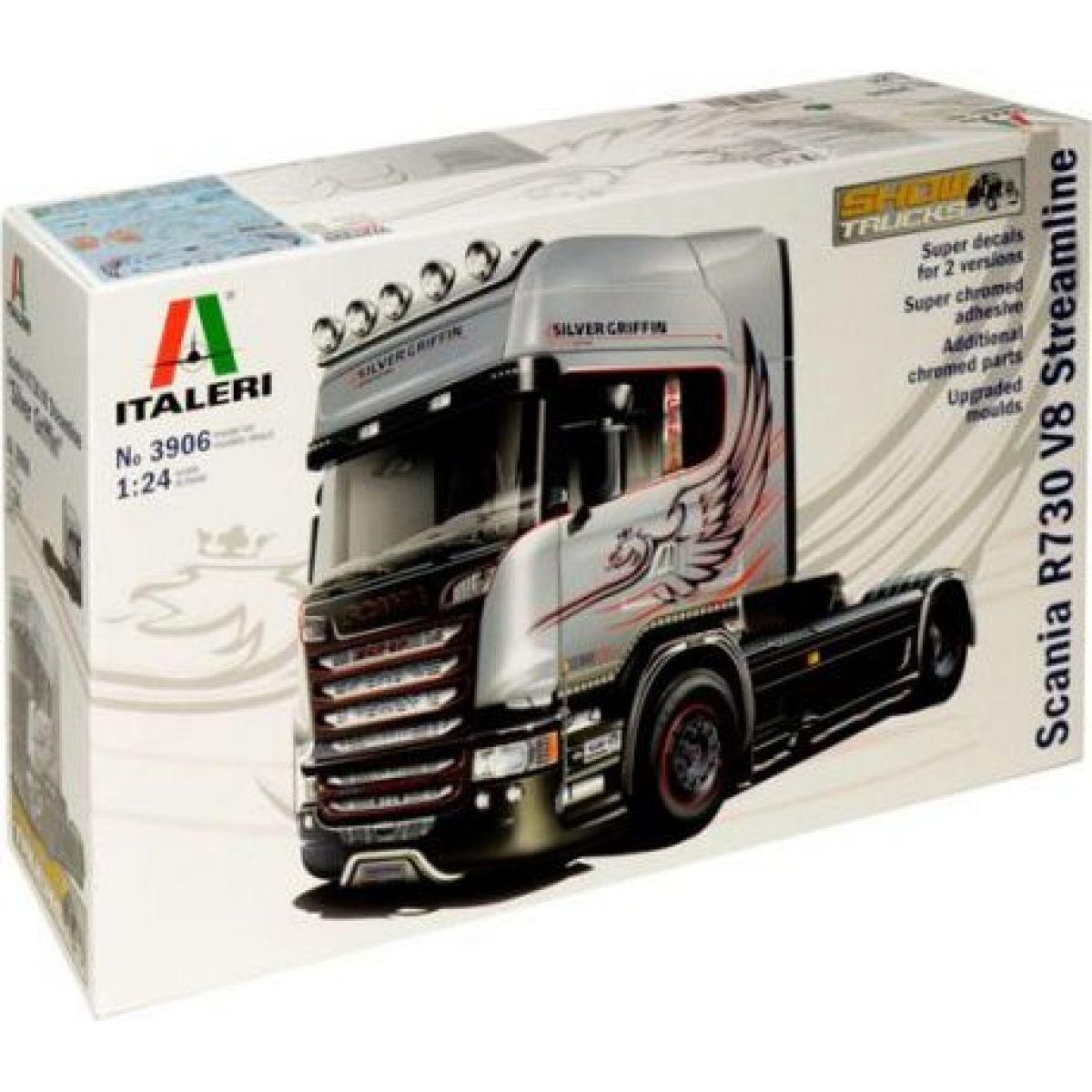 Model Kit truck 3906 SCANIA R730 STREAMLINE 4x2 1:24