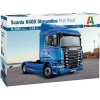 Italeri Model Kit truck 3947 Scania R400 Streamline Flat Roof 1:24 2