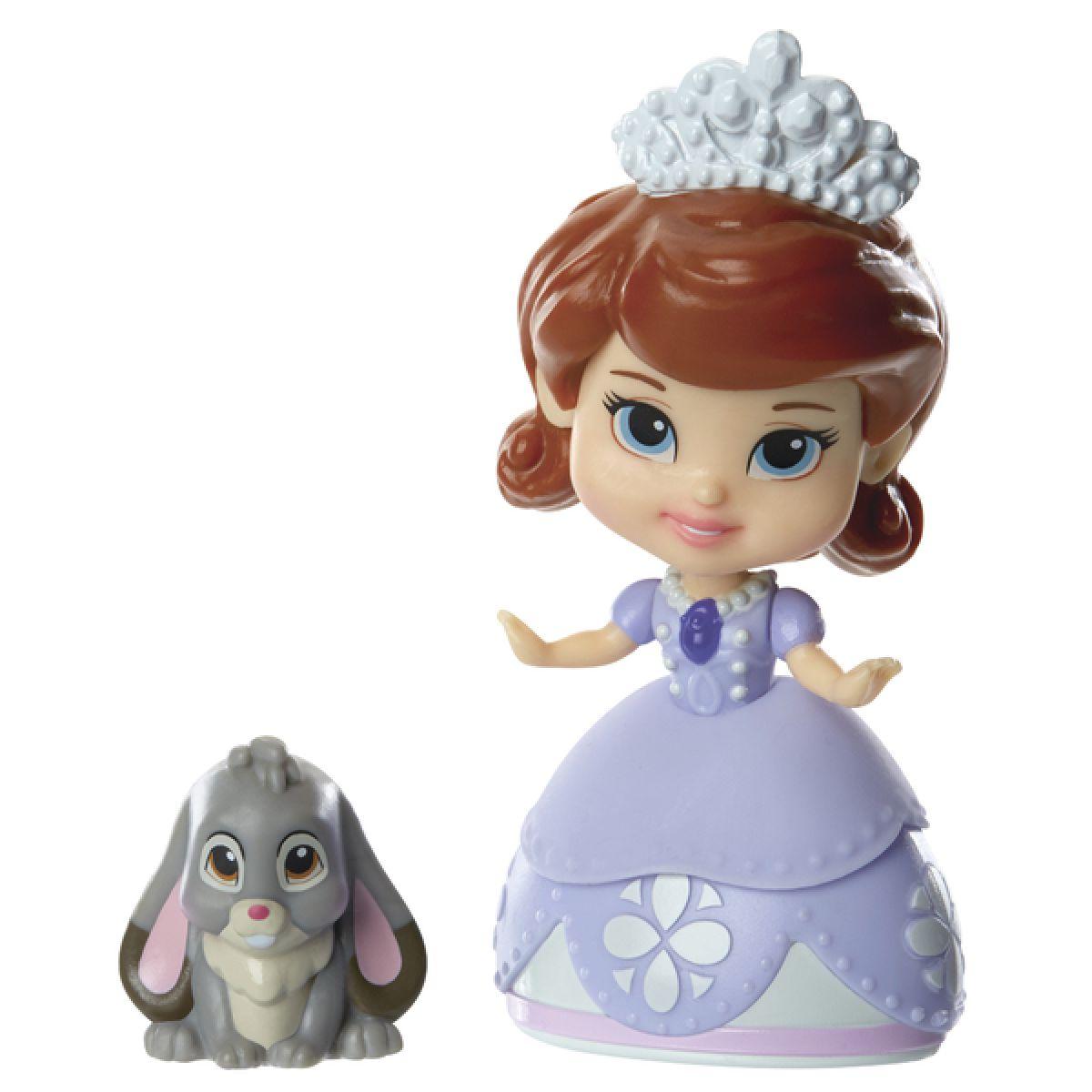 Jakks Pacific Disney Mini princezna a kamarád Sofia and Clover