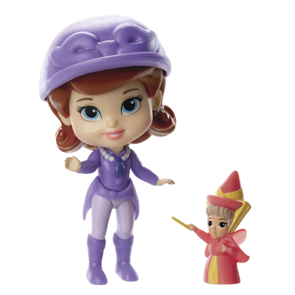 Jakks Pacific Disney Mini princezna a kamarád Sofia and Flora