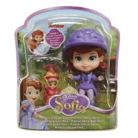 Jakks Pacific Disney Mini princezna a kamarád Sofia and Flora 2