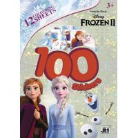 Jiri Models 100 samolepek Ľadové kráľovstvo 2