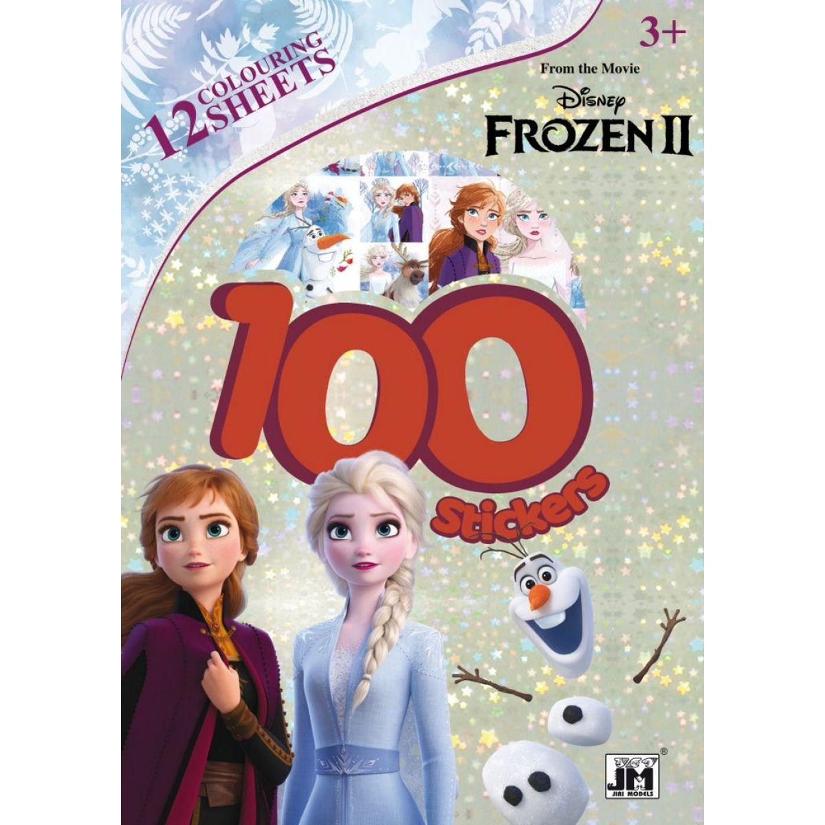 Jiri Models 100 samolepiek Ľadové kráľovstvo 2