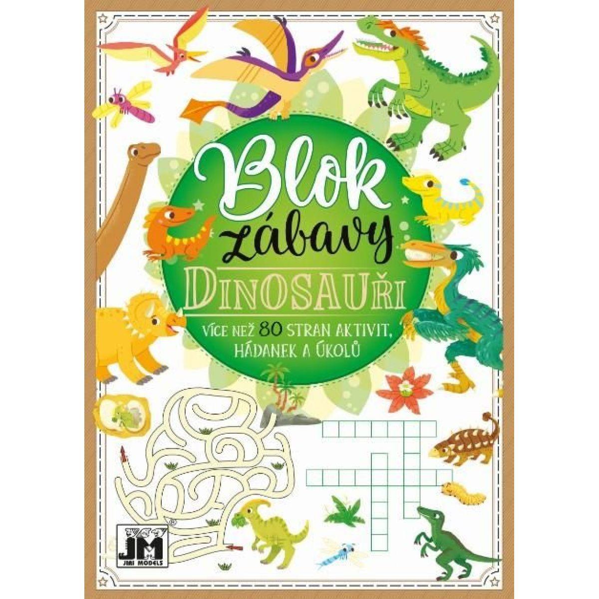 Jiri Models Blok zábavy Dinosaury