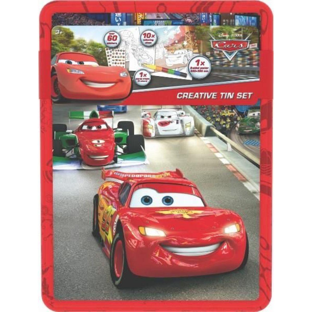 Jiri Models Cars Kreativní plechovka Auta