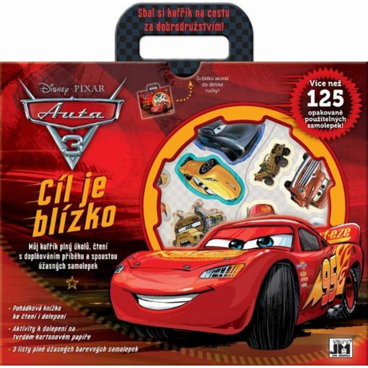 Jiri Models Zábavný kufrík Cars 3
