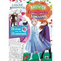 Jiri Models Cvičebnice A4 Ľadové kráľovstvo 2