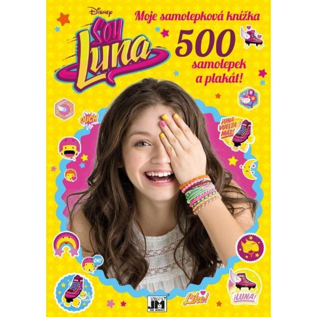 Jiri Models Disney Samolepkové knížky Soy Luna 500 samolepek