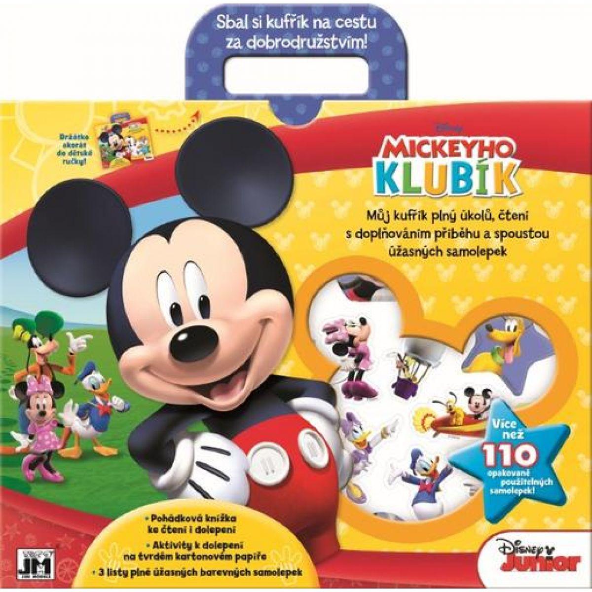 Jiri Models Disney Zábavný kufřík Mickeyho klubík