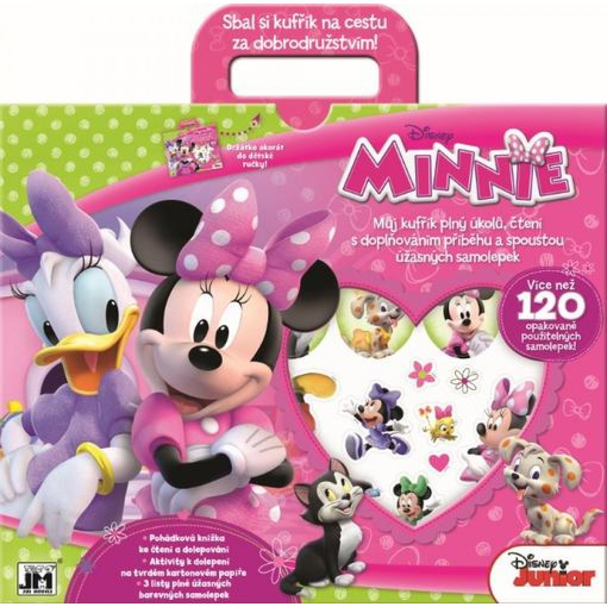 Jiri Models Disney Zábavný kufrík Minnie