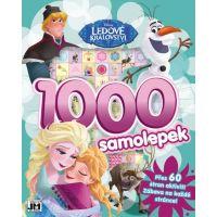 JIRI MODELS 1000 samolepiek s aktivitami Frozen Ľadové Kráľovstvo