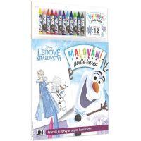 JIRI MODELS Maľovanie podľa farieb Ľadové kráľovstvo
