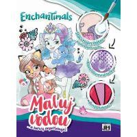 Jiri Models Malování vodou A4 Enchantimals