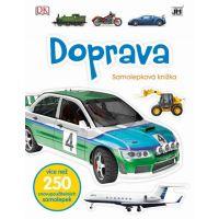Jiri Models Naučné samolepkové knížky Doprava