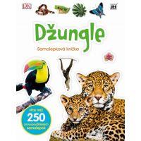 Jiri Models Naučné samolepkové knížky Džungle