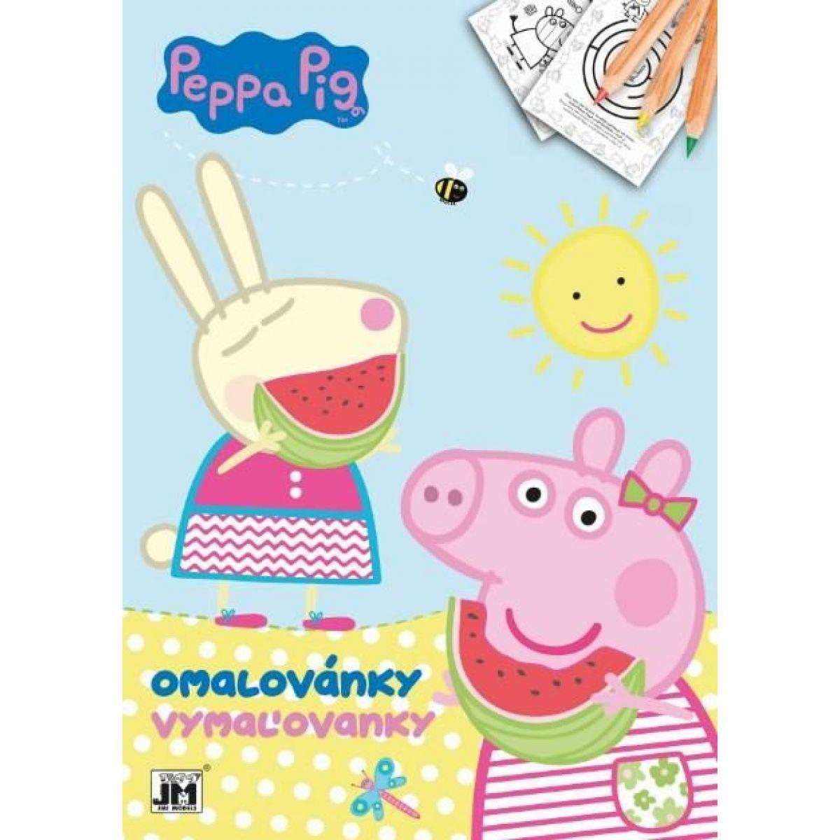 Jiri Models Omaľovánky A4 Prasiatko Peppa Pig