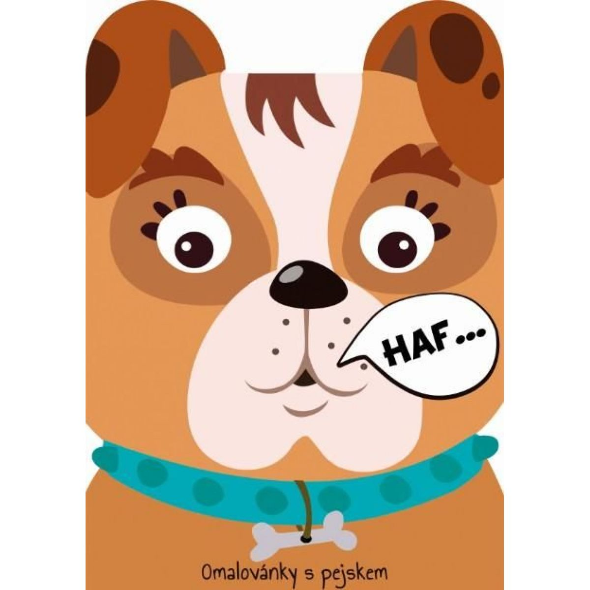 Jiri Models Omaľovánky zvieratka Pes