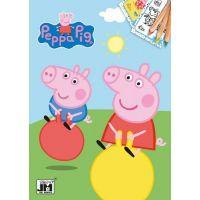 Jiří Models Peppa Pig Omalovánky A5 Prasátko Peppa