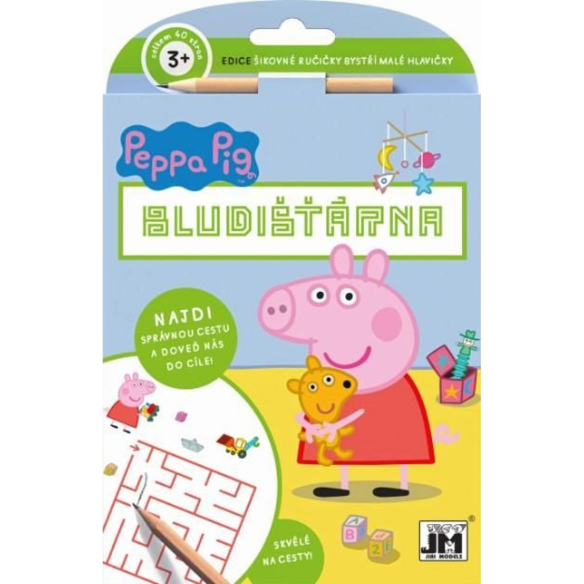 Jiri Models Peppa Pig Šikovné ručičky bludisko
