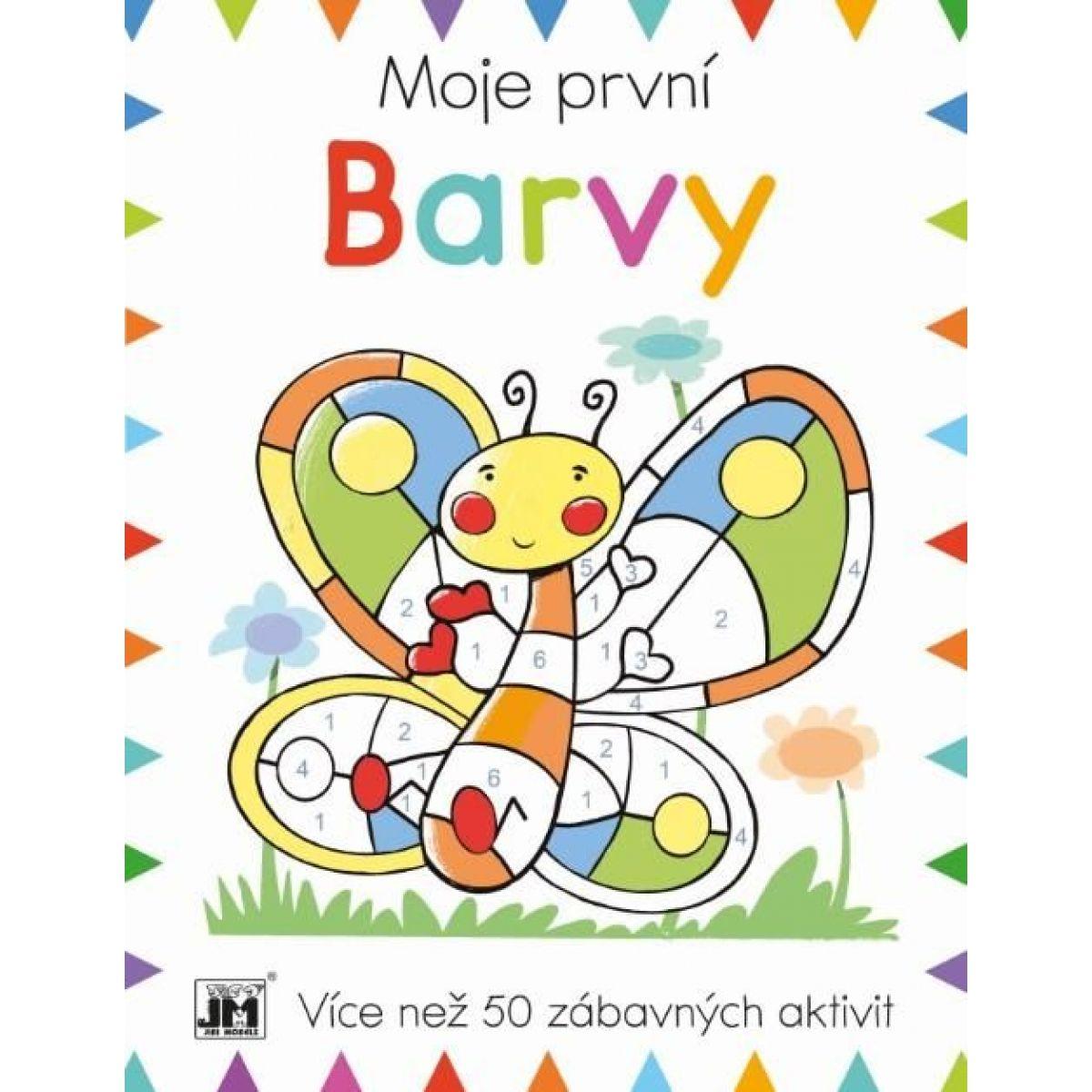 Jiri Models Prvá kniha aktivít Farby