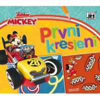 Jiri Models Prvé kreslenie Mickeyho preteky