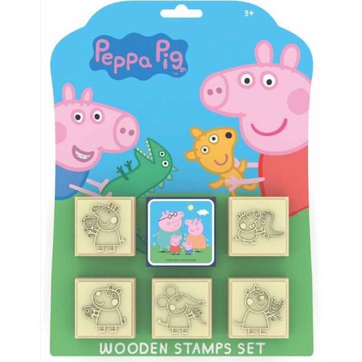 Jiri Models Pečiatky 5 + 1 Peppa Pig