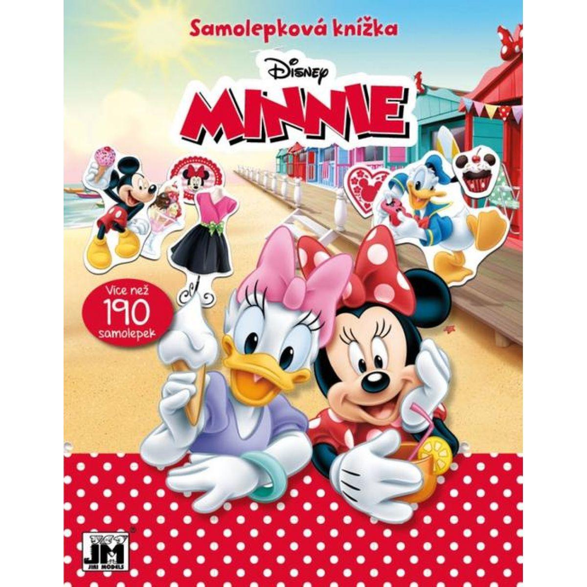 Jiri Models Samolepková knižka Minnie