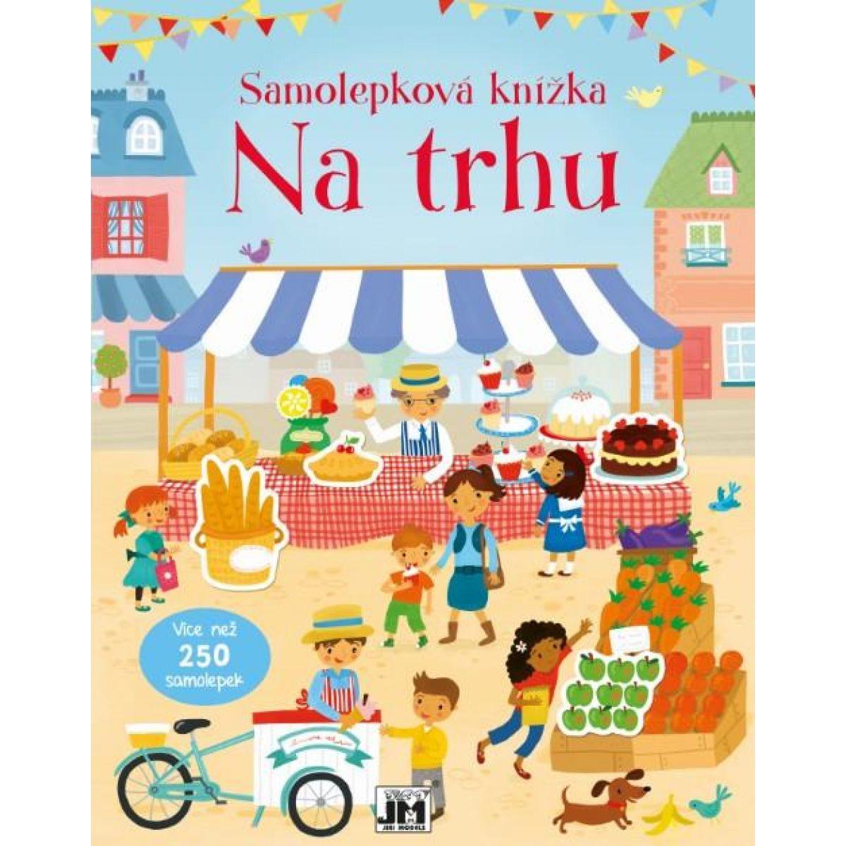 Jiri Models Samolepková knižka Na trhu