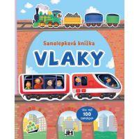 Samolepková knížka Vlaky