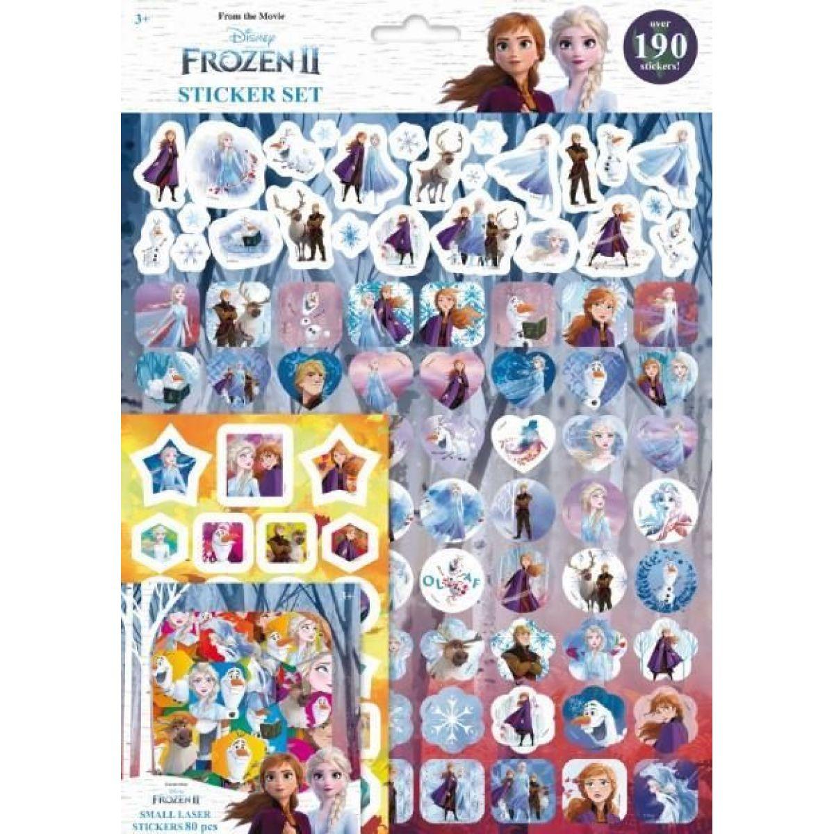 Jiri Models Samolepkový set 190 Ľadové kráľovstvo 2