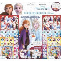 Jiri Models Samolepkový set 500 Ľadové kráľovstvo II