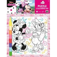Jiri Models Vybarvovací puzzle Minnie
