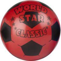 John Lopta World Star 22 cm Červená