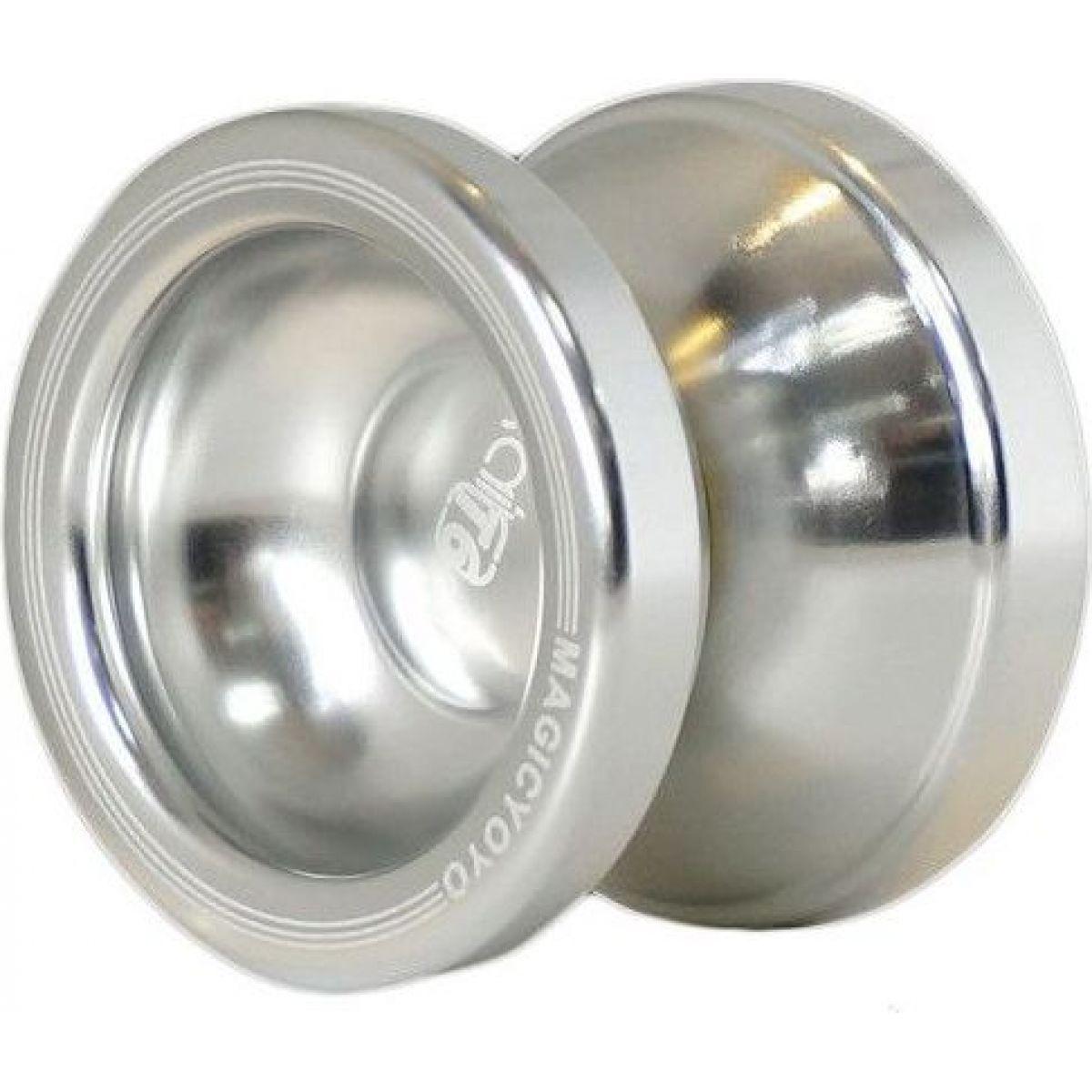 Jojo T6 -Rainbow 50mm kovové s ložiskem Stříbrná