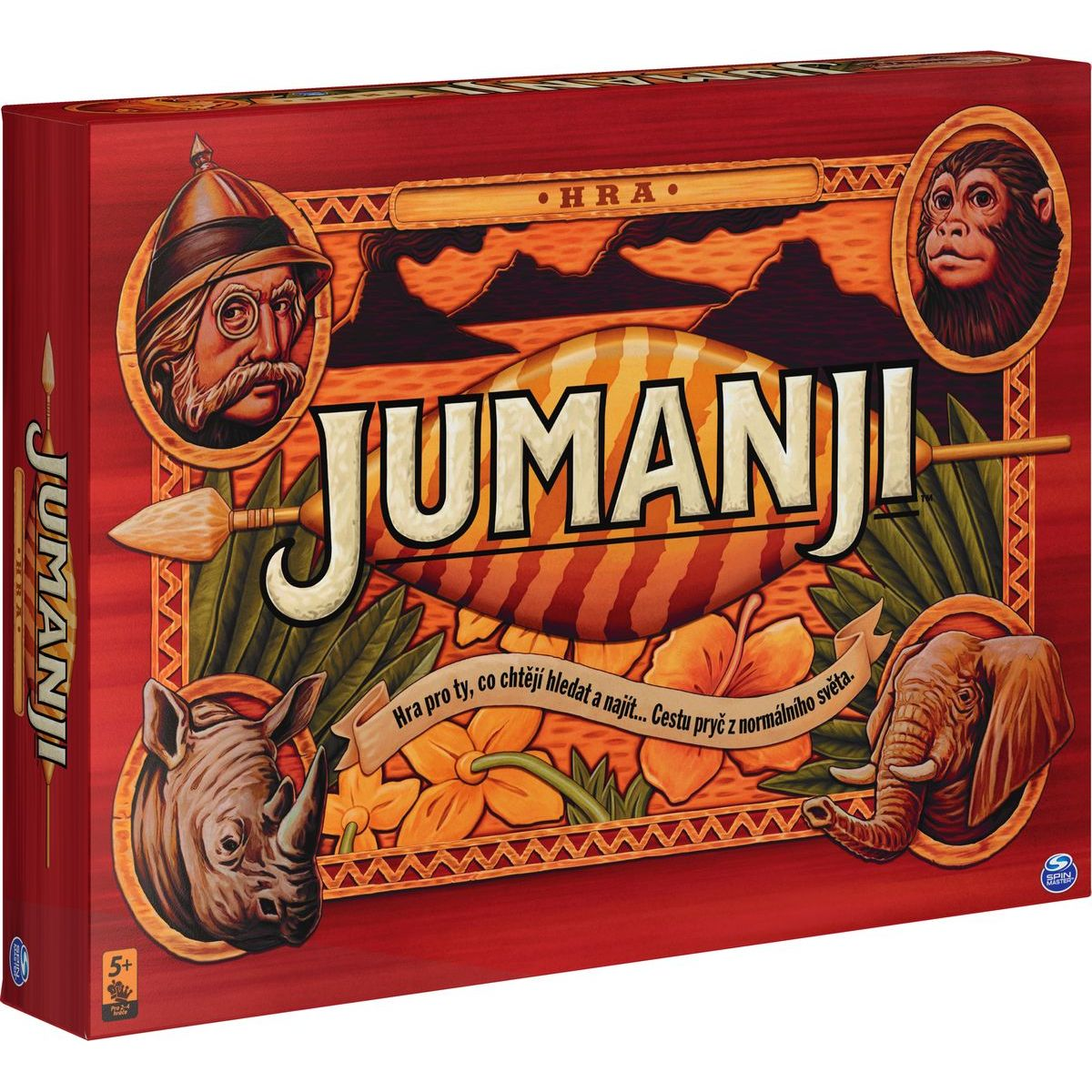 Jumanji spoločenská hra CZ