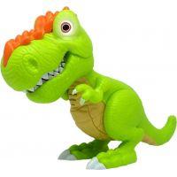 Junior Megasaur ohybný a hryzacie T-Rex - zelený