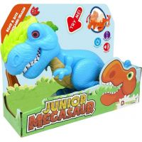 Junior Megasaur ohybný a hryzacie T-Rex modrý 5