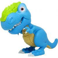 Junior Megasaur ohybný a hryzacie T-Rex -modrá
