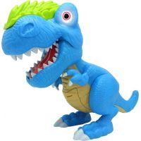Junior Megasaur ohybný a hryzacie T-Rex modrý 2