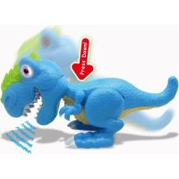 Junior Megasaur ohybný a hryzacie T-Rex modrý 3