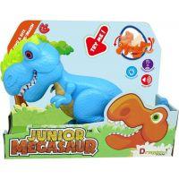 Junior Megasaur ohybný a hryzacie T-Rex modrý 6