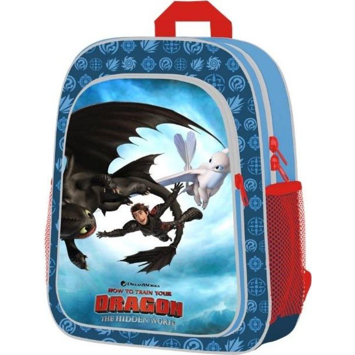Karton P + P Batoh detský predškolské Ako vycvičiť draka